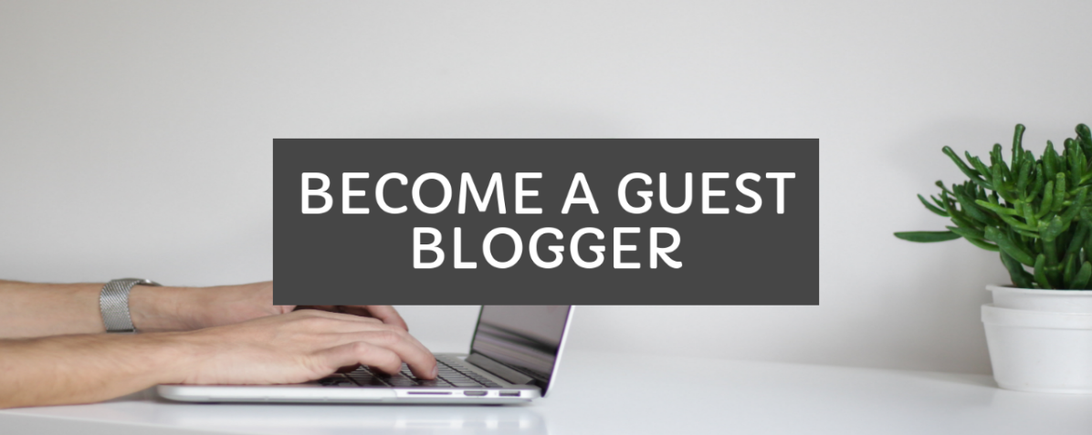 We Are Now Accepting Guest Posts